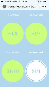 btw-alert app kwartaal tijdvak