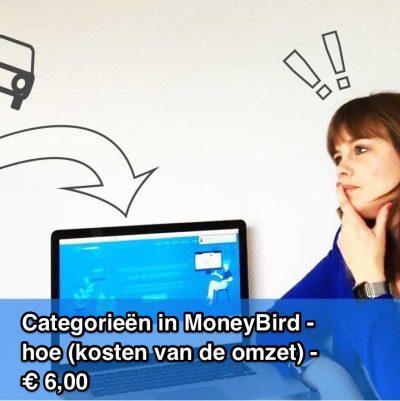 Categorieën in MoneyBird - hoe (kosten van de omzet)