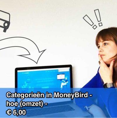 Categorieën in MoneyBird - hoe (omzet)